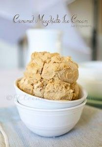 Caramel Macchiato Ice Cream - 250 Yummy Banana Recipes - RecipePin.com