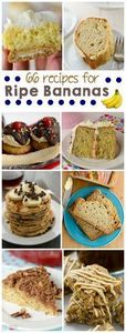 Find a recipe in this list of over - 250 Yummy Banana Recipes - RecipePin.com