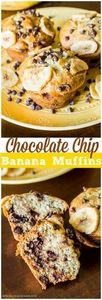 A recipe for Chocolate Chip Banana - 250 Yummy Banana Recipes - RecipePin.com