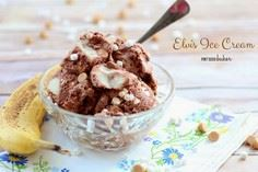 Elvis Ice Cream - Chocolate Ice Cr - 250 Yummy Banana Recipes - RecipePin.com