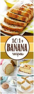 Over 100 Banana recipes including  - 250 Yummy Banana Recipes - RecipePin.com