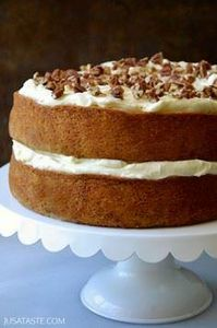 The Best Banana Cake with Cream Ch - 250 Yummy Banana Recipes - RecipePin.com