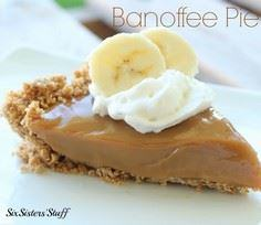 banoffee pie - 250 Yummy Banana Recipes - RecipePin.com