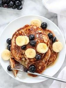 The Best Banana Bread Pancakes | f - 250 Yummy Banana Recipes - RecipePin.com