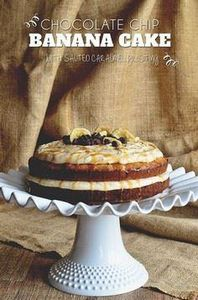 Chocolate Chip Banana layer Cake w - 250 Yummy Banana Recipes - RecipePin.com