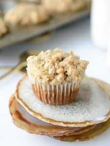 banana streusel muffins I howsweet - 250 Yummy Banana Recipes - RecipePin.com