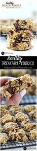 These breakfast cookies are delici - 250 Yummy Banana Recipes - RecipePin.com