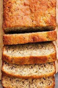 Greek Yogurt Banana Bread | Creme  - 250 Yummy Banana Recipes - RecipePin.com