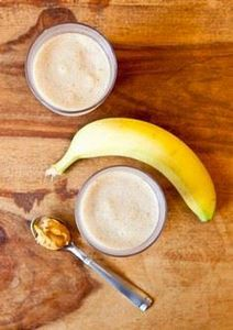 Creamy Cookie Butter White Chocola - 250 Yummy Banana Recipes - RecipePin.com