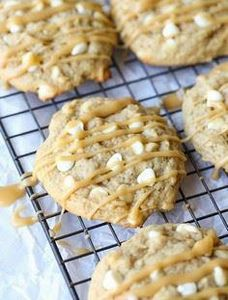 These Bananas Foster Cookies are R - 250 Yummy Banana Recipes - RecipePin.com