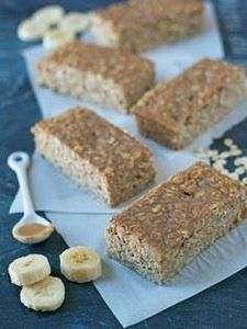 Oatmeal Breakfast Bars - 250 Yummy Banana Recipes - RecipePin.com