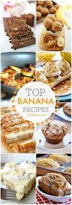 Top Ripe Banana Recipes at the36th - 250 Yummy Banana Recipes - RecipePin.com