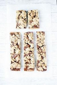 banana bread grain bars with nutel - 250 Yummy Banana Recipes - RecipePin.com