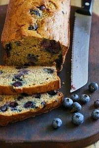 Blueberry Banana Bread - 250 Yummy Banana Recipes - RecipePin.com