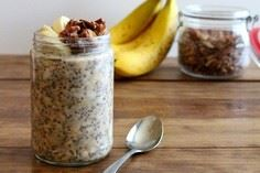 Oats are a healthy and filling bre - 250 Yummy Banana Recipes - RecipePin.com