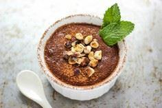 Healthy Banana Chocolate Pudding - 250 Yummy Banana Recipes - RecipePin.com