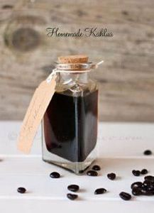 Homemade Kahlua - simple & eas - 100 Beer And Alcohol Recipes - RecipePin.com