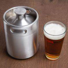 Shaped like a miniature beer keg,  - 100 Beer And Alcohol Recipes - RecipePin.com