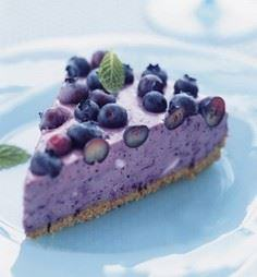 The Blueberry Icebox Pie - 200 Delicious Blueberry Recipes - RecipePin.com