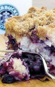 Blueberry Crumble Cofee Cake - 200 Delicious Blueberry Recipes - RecipePin.com
