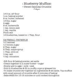 blueberry muffin recipe - 200 Delicious Blueberry Recipes - RecipePin.com