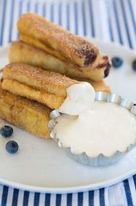 Blueberry French Toast Roll Ups wi - 200 Delicious Blueberry Recipes - RecipePin.com