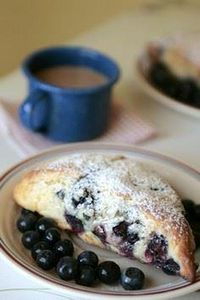 Blueberry scones - 200 Delicious Blueberry Recipes - RecipePin.com