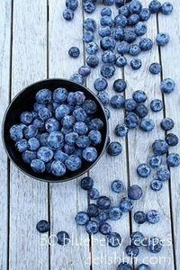 50 blueberry recipes - 200 Delicious Blueberry Recipes - RecipePin.com