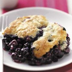 Blueberry Cobbler Recipe - 200 Delicious Blueberry Recipes - RecipePin.com