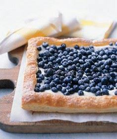 Blueberry Tart Recipe - 200 Delicious Blueberry Recipes - RecipePin.com