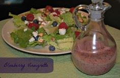 blueberry vinaigrette recipe - 200 Delicious Blueberry Recipes - RecipePin.com