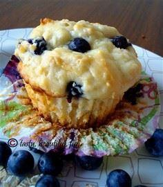 POWER muffins: blueberries, oatmea - 200 Delicious Blueberry Recipes - RecipePin.com