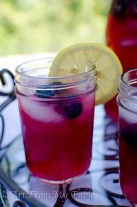 Blueberry_Lemonade-13 - 200 Delicious Blueberry Recipes - RecipePin.com