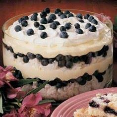 Blueberry Delight Recipe - 200 Delicious Blueberry Recipes - RecipePin.com