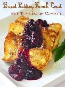 Bread Pudding French Toast with Mi - 200 Delicious Blueberry Recipes - RecipePin.com