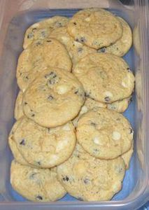 Blueberry Cheesecake Cookies | coo - 200 Delicious Blueberry Recipes - RecipePin.com