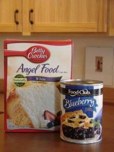 Gooey Blueberry Angel Food Cake De - 200 Delicious Blueberry Recipes - RecipePin.com