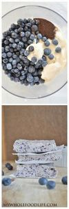 All you need is 4 ingredients to m - 200 Delicious Blueberry Recipes - RecipePin.com