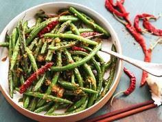 Easy Sichuan Dry-Fried Green Beans - 235 Chinese Recipes - RecipePin.com