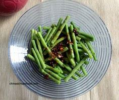 Spicy long beans - 235 Chinese Recipes - RecipePin.com