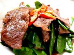 Saute Beef with Snow Peas - 235 Chinese Recipes - RecipePin.com