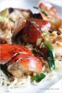 Lobster Yee Mein is a celebrated d - 235 Chinese Recipes - RecipePin.com