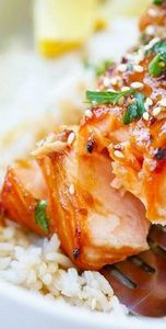 Easy Ginger Garlic Baked Salmon –  - 235 Chinese Recipes - RecipePin.com