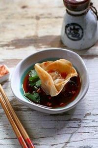 Sichuan Spicy Wontons recipe. Your - 235 Chinese Recipes - RecipePin.com
