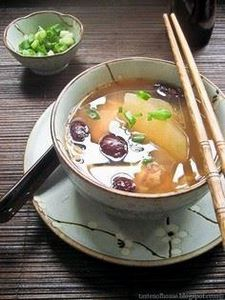 Chinese Winter Melon 'Slow Fire' S - 235 Chinese Recipes - RecipePin.com
