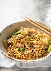 This real Chicken Chow Mein recipe - 235 Chinese Recipes - RecipePin.com