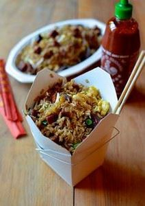Classic Pork Fried Rice by The Wok - 235 Chinese Recipes - RecipePin.com