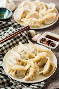 How to Make Chinese Dumplings from - 235 Chinese Recipes - RecipePin.com