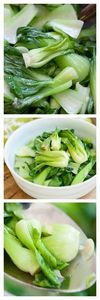 Garlic Boy Choy that takes only 10 - 235 Chinese Recipes - RecipePin.com