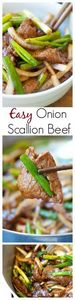Onion scallion beef – tender juicy - 235 Chinese Recipes - RecipePin.com